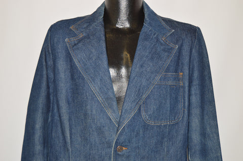 70s Levi's Orange Tab Denim Jacket Men's Size 40