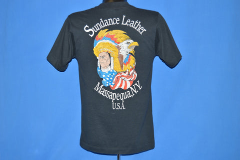 80s Sundance Leather Native American t-shirt Small
