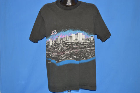 90s San Diego Skyline Wrap Around t-shirt Extra Large