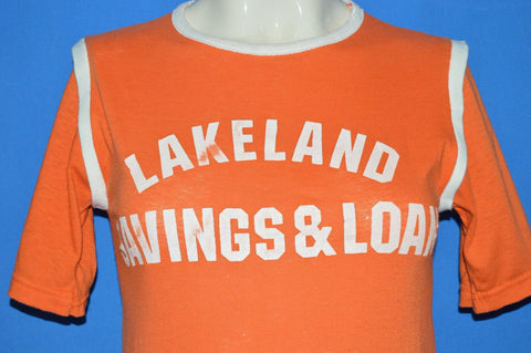 70s Lakeland Savings & Loan Jersey t-shirt Extra Small