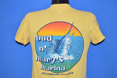 70s Bud n' Mary's Marina Florida Keys t-shirt Small