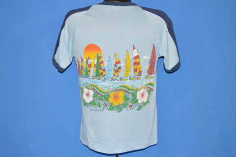 80s Cocoa Beach Florida Sailboat t-shirt Small