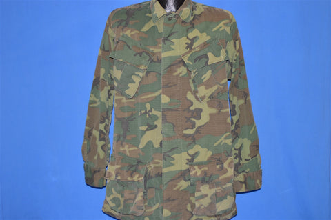 60s Vietnam War US Army Camouflage Jacket Small