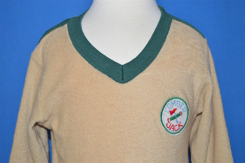 70s Wrangler V-Neck Toddler Sweater 2T