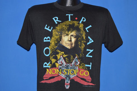 80s Robert Plant Non Stop Go World Tour t-shirt Medium