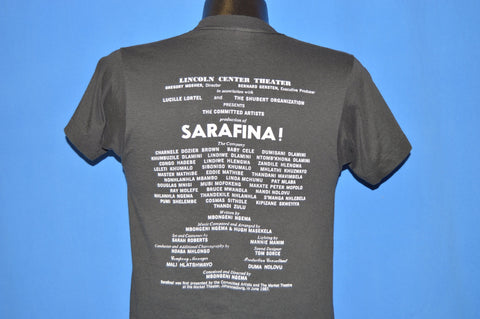 80s Sarafina! South African Broadway Musical t-shirt Small