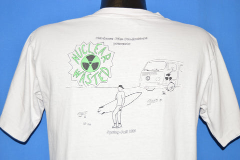 80s Hardcore Film Productions Nuclear Wasted t-shirt Medium