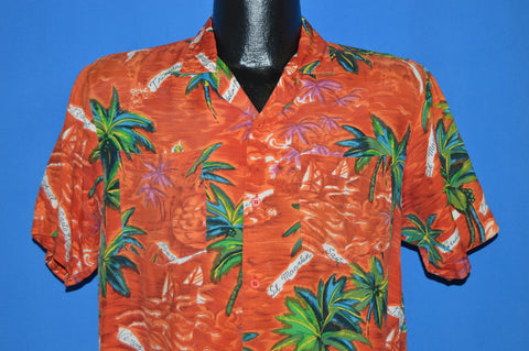 60s Sears Aloha Hawaiian shirt Medium