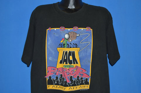 90s Jack The Rapper Family Affair 1992 t-shirt Extra Large