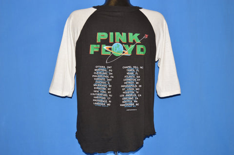 80s Pink Floyd A Momentary Lapse Of Reason Tour t-shirt Large