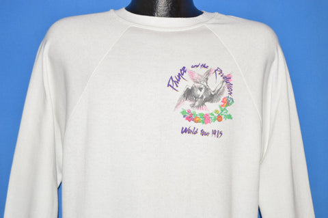 80s Prince and the Revolution World Tour Sweatshirt Medium