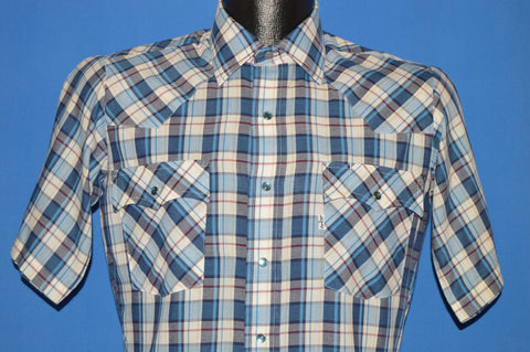 90s Levis Checkered Western Cowboy Men's Shirt Small