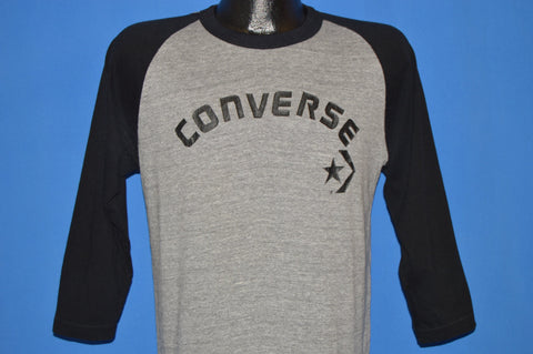 80s Converse All Star Rayon Jersey t-shirt Large