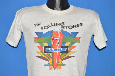 70s Rolling Stones 1975 US Tour t-shirt Small