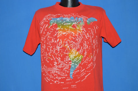 80s Rainbow Constellations t-shirt Large