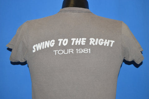 80s Utopia Todd Rundgren Swing to the Right Tour t-shirt Small