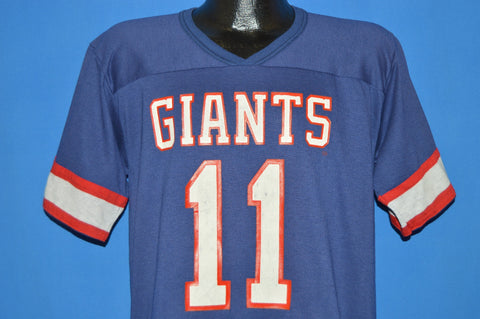 80s New York Giants Phil Simms #11 Jersey t-shirt Large