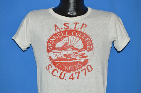 40s Grinnell College Pioneers ASTP t-shirt Small