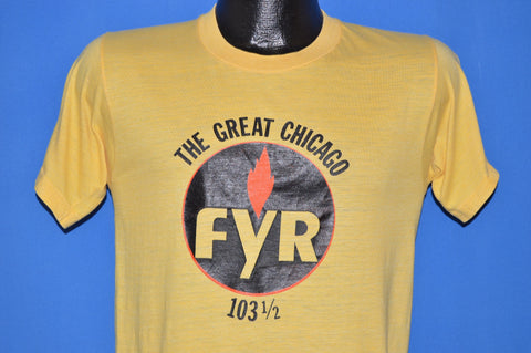 70s 103.5 WFYR The Great Chicago FYR t-shirt Small