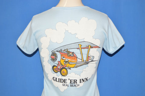 80s Glide 'Er Inn Seal Beach California t-shirt Women's Small