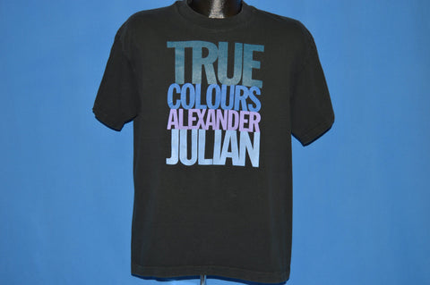 90s True Colours Alexander Julian t-shirt Large