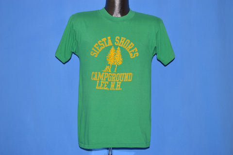 80s Siesta Shores Campground New Hampshire t-shirt Small