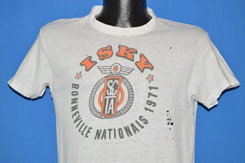 70s Bonneville Nationals 1971 Race t-shirt Medium