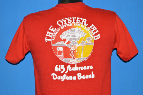 80s The Oyster Pub Do It In The Raw t-shirt Small