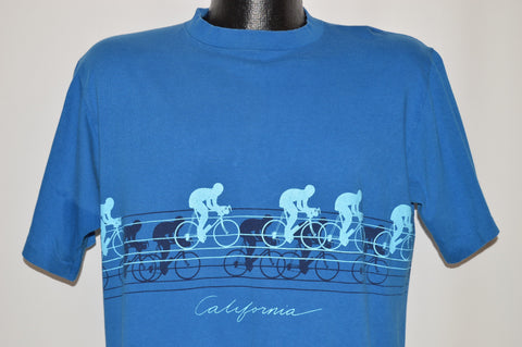 80s California Biking Wrap Around t-shirt Large