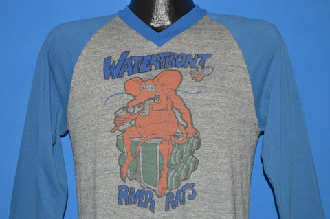 80s Waterfront River Rats Jersey Style t-shirt Medium