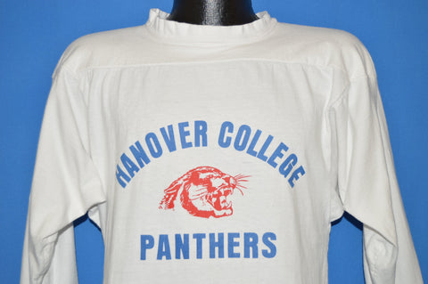 70s Hanover College Panthers Jersey-Style t-shirt Medium