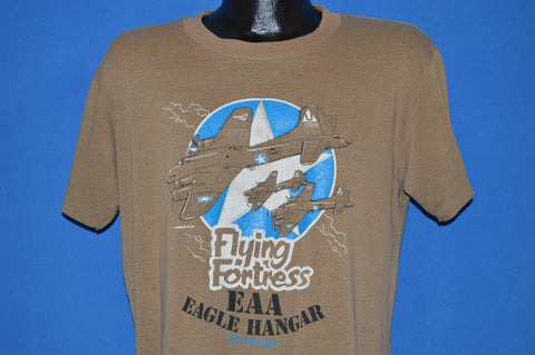 80s Flying Fortress EAA Eagle Hangar t-shirt Large