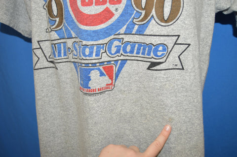 90s Chicago Cubs 1990 All Star Game Baseball t-shirt Large