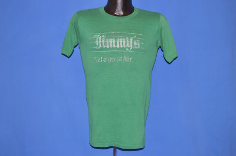 80s Jimmy's Not A Great Bar Hyde Park t-shirt Small