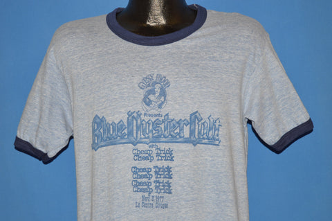 70s Blue Oyster Cult Cheap Trick 1977 Ringer t-shirt Medium