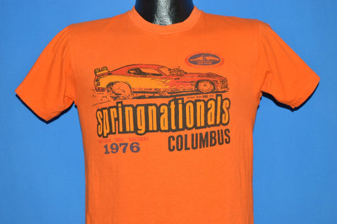 70s Springnationals 1976 Columbus Racing t-shirt Small