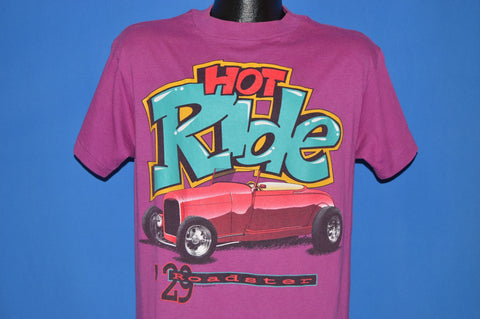 80s Hot Ride Hot Rod 1929 Roadster t-shirt Large