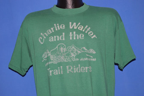 80s Charlie Walter And The Trail Riders t-shirt Extra Large
