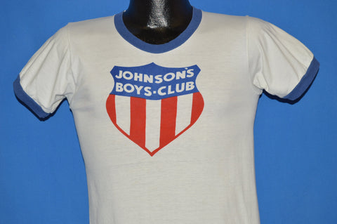 60s Johnson's Boys Club Of America t-shirt Small