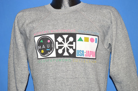 80s Maui And Sons Surf And Skateboard Sweatshirt Medium