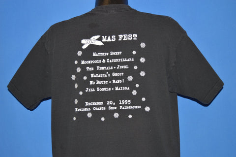 90s 103.9 Xmas Fest Alternative Music Festival t-shirt Extra Large