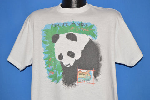 80s Giant Panda San Diego Zoo Extinction t-shirt Large