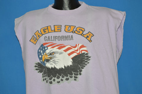 80s Eagle California Sleeveless t-shirt Extra Large