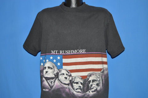 90s Mount Rushmore American Flag t-shirt Extra Large