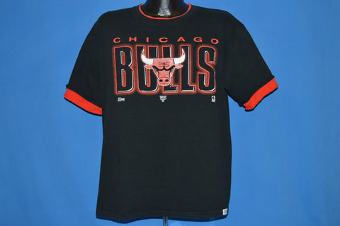 90s Chicago Bulls Roll Up Sleeve t-shirt Large