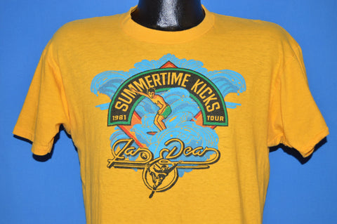 80s Jan And Dead Summertime Kicks Tour t-shirt Medium