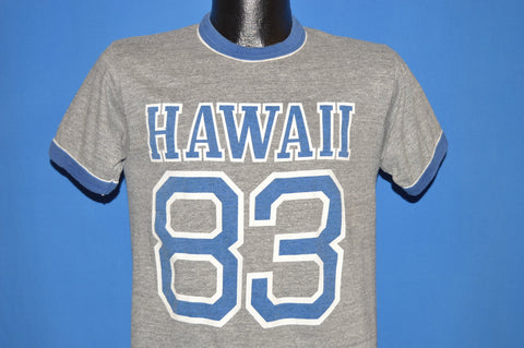 80s Hawaii 83 Rayon Tri Blend Tourist t-shirt Small