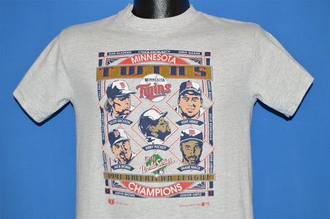 90s Minnesota Twins World Series Champs t-shirt Youth Large