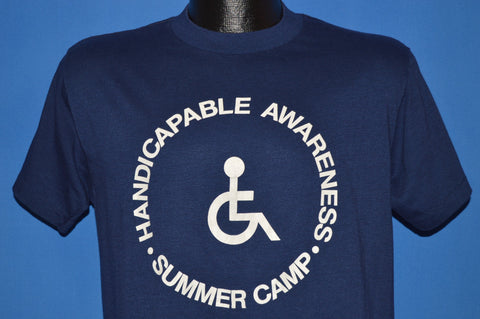 80s Handicapable Awareness Summer Camp t-shirt Medium