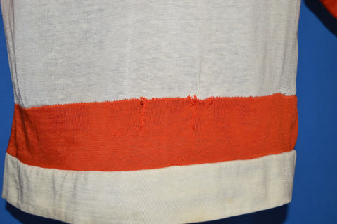 70s Philadelphia Flyers NHL Distressed Jersey Youth Large